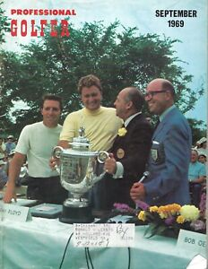1969 Professional Golfer magazine golf Ray Floyd Gary Player PGA Championship VG