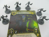 Time of Legends: Joan of Arc Unleash Hell DEMONIC LEGION Miniatures & CARD New!