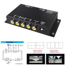 360° Car Truck Parking View Camera Image 4-Ways Video Monitoring Control Box Kit