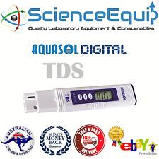 Digital EC/TDS Meter Tester Pool Water Spa Aquarium Measure Pen Test Kit