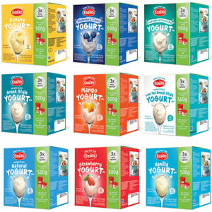 Easiyo Mini Sachet Yogurt Mix Pick Your Own 4 or 8, 12 Boxes from the list Below