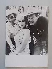 "Ancienne Photo / presentation du Film "" Les Désaxés "" , Marilyn Monroe , Vintage"