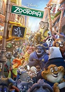 Tenyo 300 pieces Jigsaw Puzzle Welcome to Zootopia D-300-278