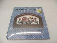 "Design Works Crafts ""Bed & Breakfast"" Cross Stitch Kit 87206 -- NEW"