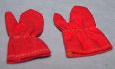 """Vintage-Original-Mattel-Barbie-Ken-Skiing Gloves -""""Ski Queen""""-""""Ski Champion"""""""