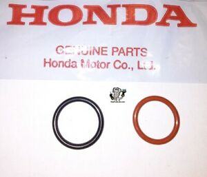 New OEM Honda Acura Power Steering Pump Inlet & Outlet O-ring Seals 2 piece Kit