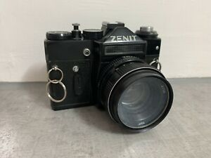 Zenit Camera Vintage Russian USSR and case