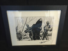 Walking Dead Michonne Introduction Production Art Storyboard by John Watkiss