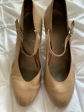 Tan Bloch Character Shoes - 6