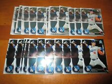 Lot (25) KENTA MAEDA 2016 Bowman Cards 14 Base + 11 Chrome Dodgers Japan rookie