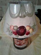 Yankee Candle Large Jar Shade and Plate - Sugar Plums and Fruit
