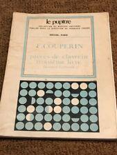 Le Pupitre F. Couperin pieces de clavecin troisieme livre Kenneth Gilbert L.P.23