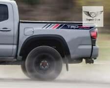 TRD Red and Grey line 4x4 Off Road Sport Limited Vinyl Stickers Decal Tacoma