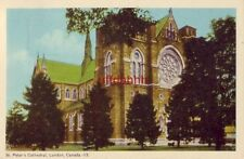 ST. PETER'S CATHEDRAL LONDON ONTARIO CANADA 1956