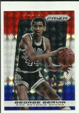 George Gervin 2013-14 Panini Prizm Red White & Blue Mosaic Prizms #240