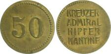 Deutschland / Kreuzer Admiral Hipper  50 Pfennig,   vz