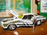"""M2 1969 CHEVY CAMARO COPO 427 """"MOONEYES EQUIPPED"""" LIMITED EDITION 1/64 DETAILED"""