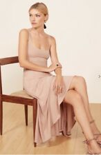 NWT Reformation Rou Dress In Blush Size Small SOLD OUT