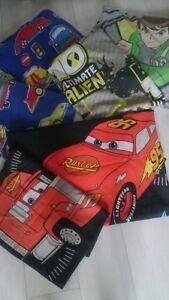 NICE BOY Single Bed 3x BUNDLE BOY DUVET SET MCQUEEN CARS BEN 10