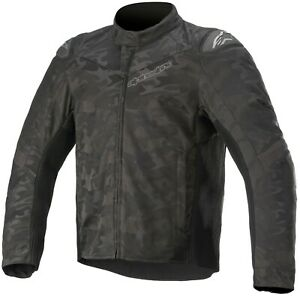 NEW Genuine Alpinestars T SP-5 Rideknit Motorcycle Jacket Black Camo X-Large