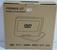 Premier AV SB-D9020 9-Inch Multi-Region Tragbarer DVD-Player neu in OVP (X148)