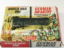 Vintage Airfix HO/OO Figures WWI GERMAN INFANTRY 46/48 Pcs in Type 2 Box