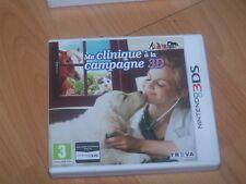 ma clinique a la campagne 3d   VF  2DS 3DS boite cartouche livret