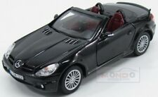 Mercedes Benz Slk55 Amg Spider 2005 Black MotorMax 1:24 MTM73292BK