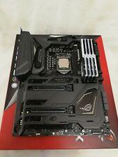 ASUS Maximus IX Formula - Intel Core i7-7700K - G.SKILL Trident Z RGB (8 GB x 4)