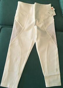 Sofibella Supplex Capri (1704) White with White Mesh (Alley Collection)