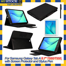 Removable Bluetooth Keyboard Case Cover For Samsung Galaxy Tab A 9.7 T550 T555