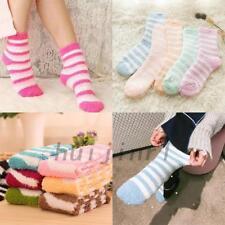 6pairs Ladies Women Winter Warm Soft Fluffy Bed Socks Lounge SLIPPER Fleece Sock