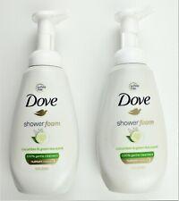 Dove Shower Foam Cucumber & Green TeaBody Wash - Net Wt. 13.5 FL OZ 2-Pack