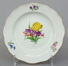 Meissen Teller, mit bunten Blumen bemalt #2