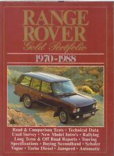 RANGE ROVER MK1 ( INCL VOGUE & SE ) 1970-1988 PERIOD ROAD TESTS BOOK
