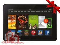 Amazon Kindle Fire HD 7in Black 16GB Wi-Fi Tablet Dual Core 1.5 GHz X43Z60 16GB