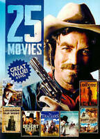 25 Movies: Westerns, Vol. 1 (DVD, 2014, 4-Disc Set)