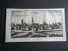 Kopergravure Zwolle Overijssel 1690
