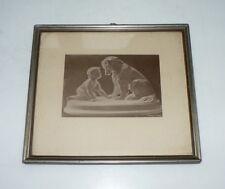 Rahmen mit Grafiken Bild Heinrich Kock KIEL Einrahmung von Bildern 50 Jahre