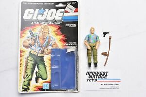 Vintage GI JOE ACTION FIGURE 1987 CHUCKLES 100% Complete - HASBRO