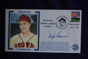45th Anniversary Ned Garver's 20 Game Winning Season Event Cover Bulls Eye 03045