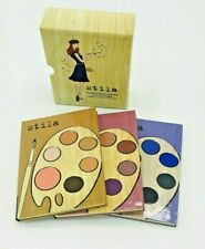 Stila Masterpiece Series Eye & Cheek Palettes - Nib Eyeshadow Rouge Blush Makeup