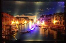 LED Bild Leinwandbild 65 cm x 45 cm Leuchtbild Venedig Samarkand-Lights