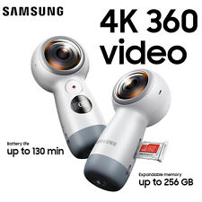 "[Ship from US] New SAMSUNG Gear 360 SM-R210 Camera VR Android 5.0 iOS 10.0"" 2017"