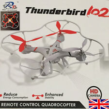 Rc Thunderbird 102 with 2M Pixels HD Camera  6-Axis Gyro Drone, 3D Flip Quad