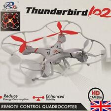 RC Thunderbird 102 con 2 M píxeles cámara HD 6-Axis Gyro teledirigido, 3D con cierre magnético de cuatro