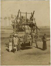 Photo Zangaki Albuminé Egypte Jeux Pour Enfant Vers 1870/80