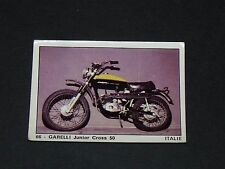 #66 GARELLI JUNIOR CROSS 50 ITALIA MOTO 2000 PANINI EDITIONS DE LA TOUR 1973