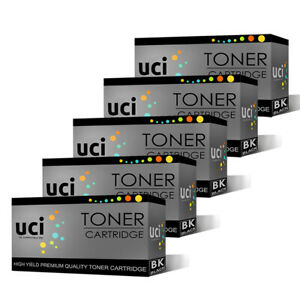 5x Black CE285A Toner UCI Brand fits for hp LaserJet Pro P1102 P1102w