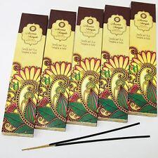 Räucherstäbchen Aroma Temple Indien-Tempel-Duft Lieblingsduft 5 x 15 g Hippie